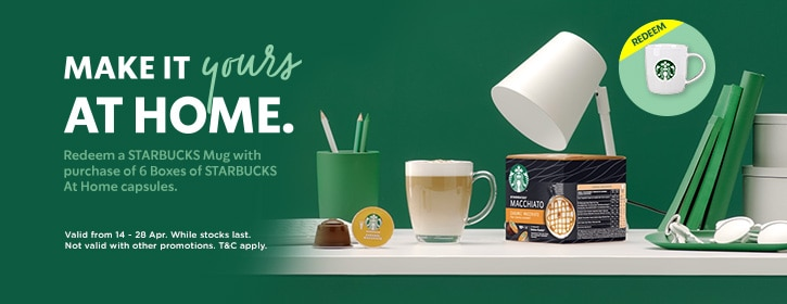 buy 6 boxes and get free mug