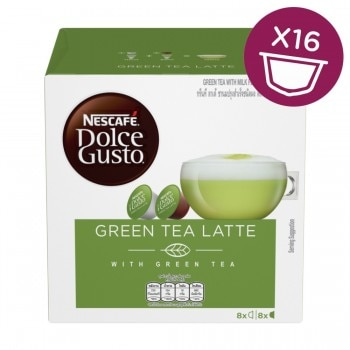 Nescafe Dolce Gusto - Green Tea Latte Key visual