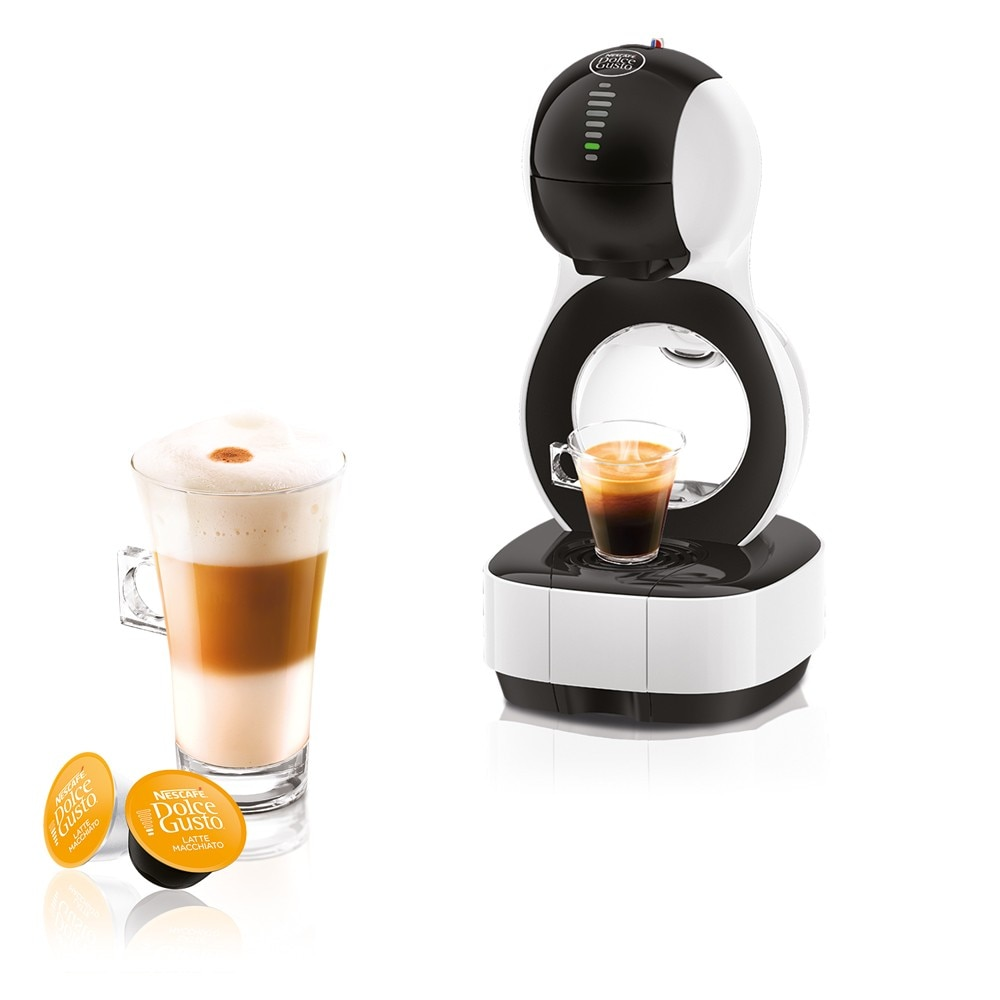 lumio white automatic machine nescaf dolce gusto. Black Bedroom Furniture Sets. Home Design Ideas
