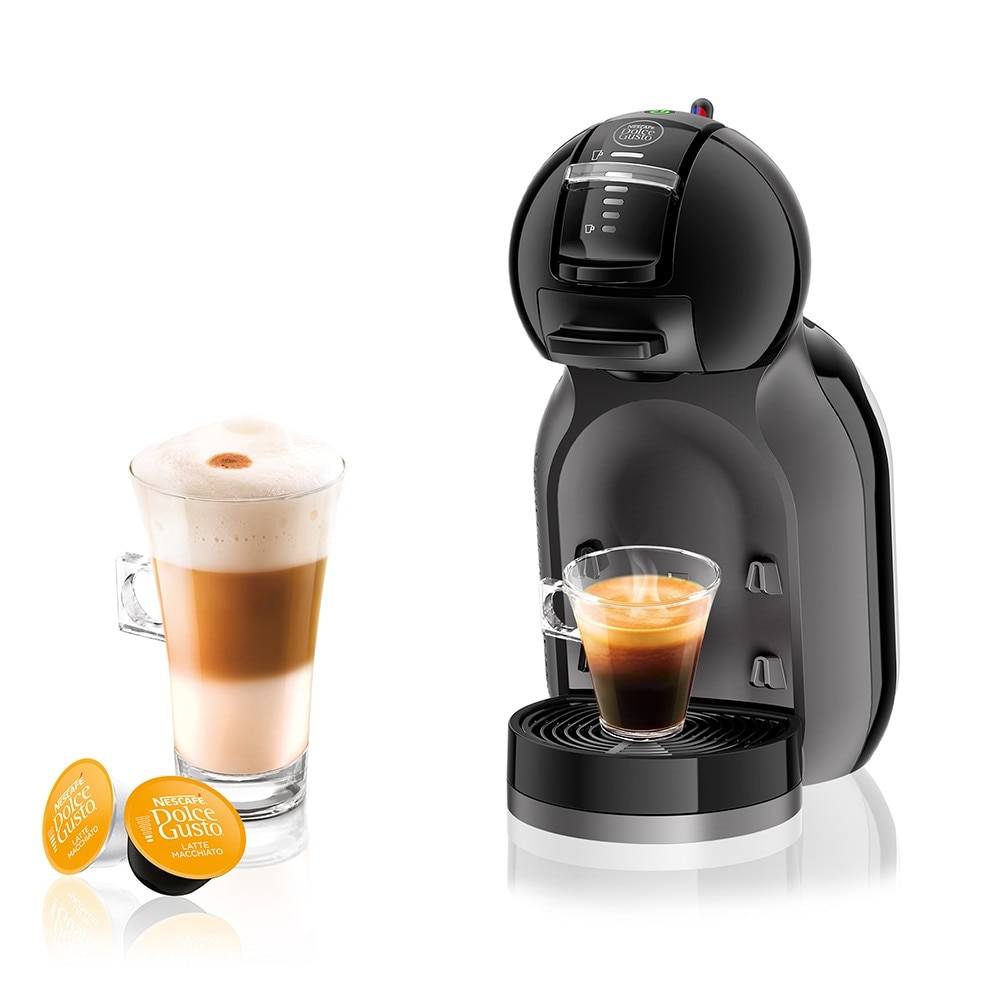 mini me piano black coffee machine nescaf dolce gusto. Black Bedroom Furniture Sets. Home Design Ideas