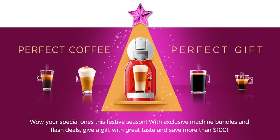Perfect Coffee Perfect Gift Banner